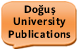 Doğuş University Publications